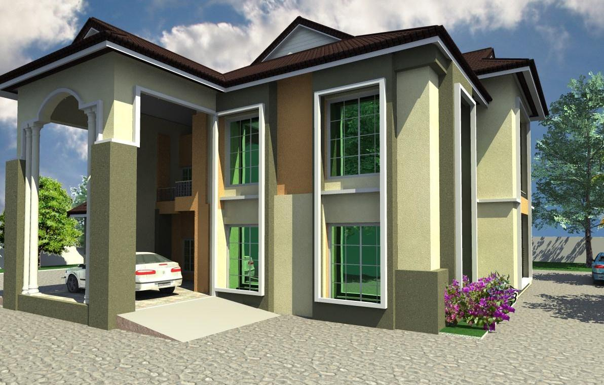 Best Kitchen Gallery: Architectural Designs For Nairalanders Who Want To Build of Modern Duplex House In Nigeria on rachelxblog.com