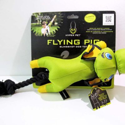 Flying Pig Slingshot Toy