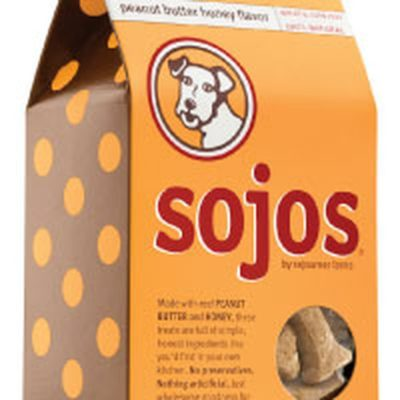 Sojos Peanut Butter & Honey Dog Treats