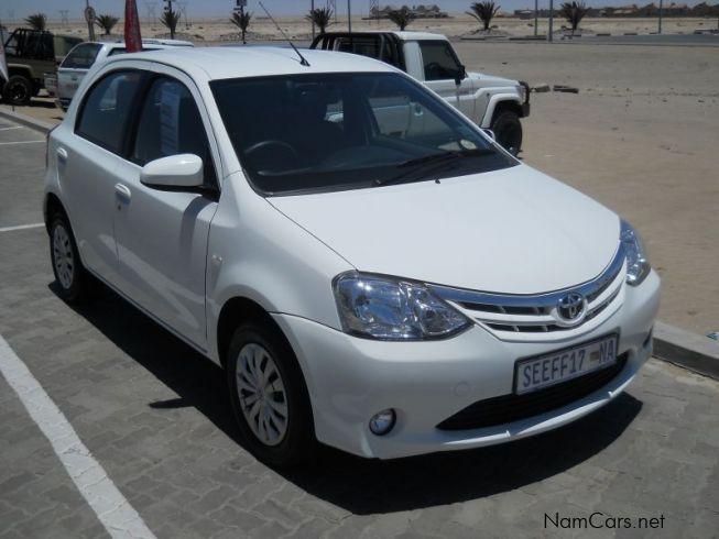 Used Toyota Etios 1 5 Xs 2015 Etios 1 5 Xs For Sale