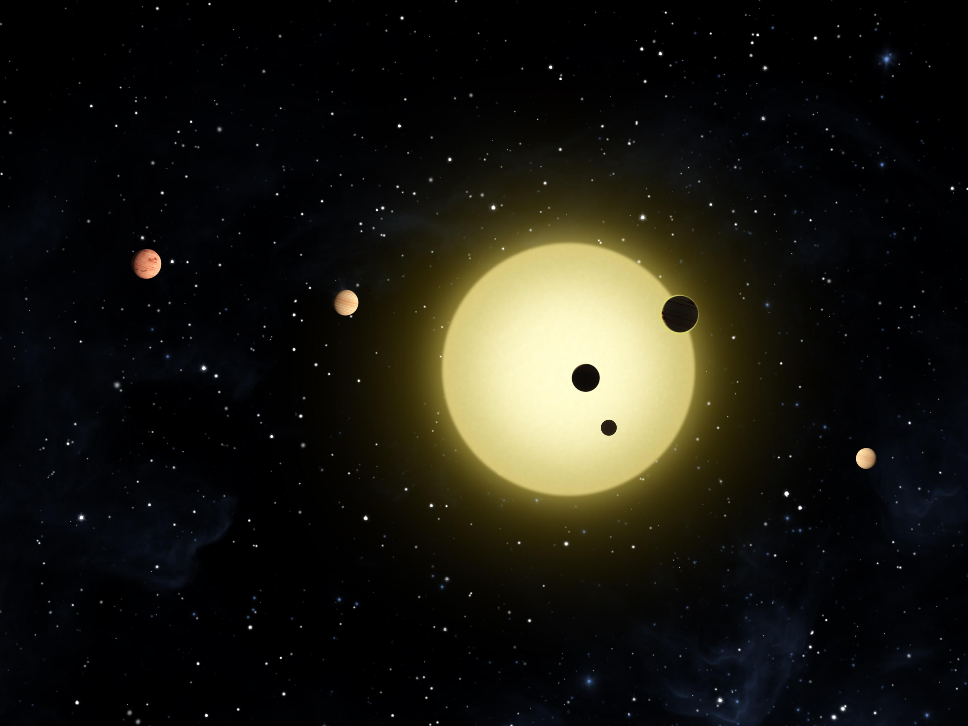 NASA's Kepler Spacecraft Discovers Extraordinary New ...
