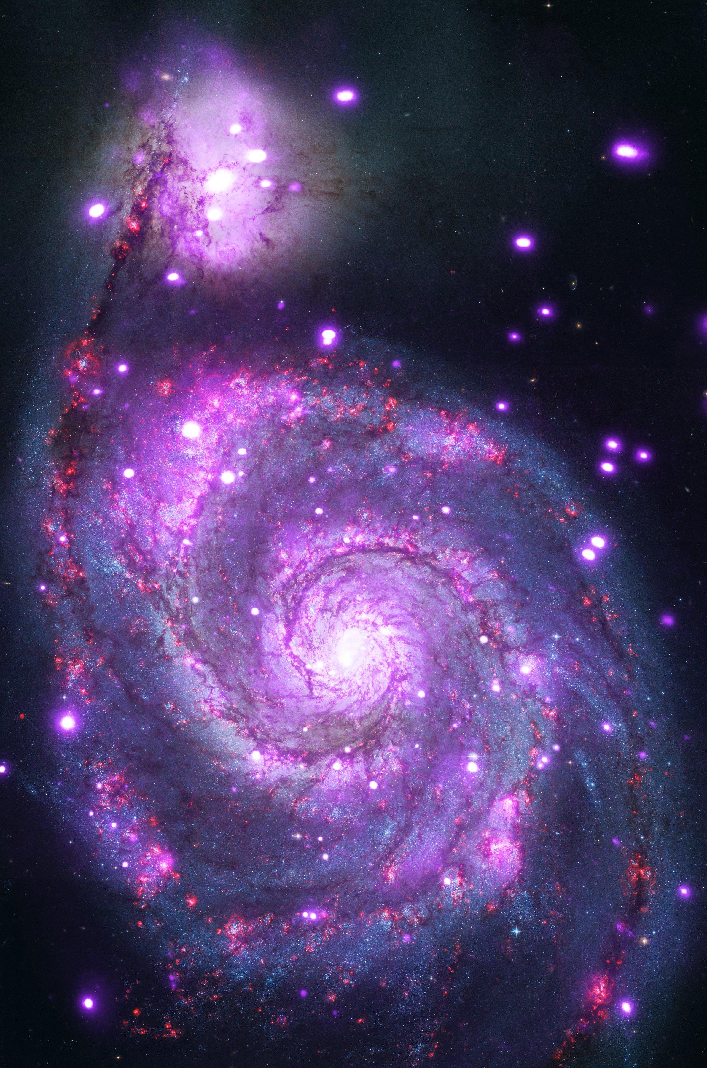 Chandra Captures Galaxy Sparkling in X-rays   NASA