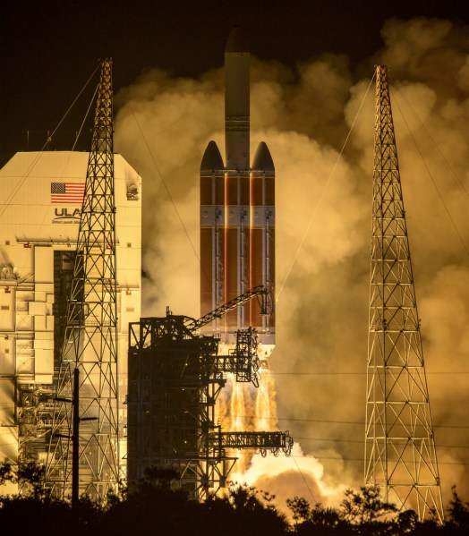 NASA  ULA Launch Parker Solar Probe on Historic Journey to Touch Sun     NASA  ULA Launch Parker Solar Probe on Historic Journey to Touch Sun