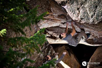 Adventure Photographer Nathan Welton Climbing Skiing