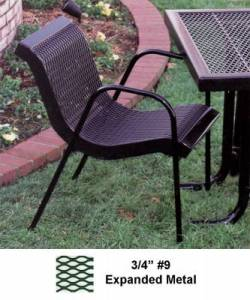Commercial Patio Tables   Chairs   National Outdoor Furniture Picnic Tables   Patio Tables and Seating   Modern Stack Chair With Arms