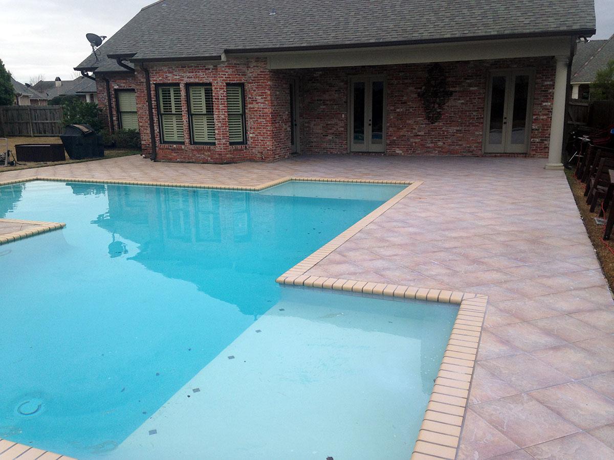 Non Slip Tile Pool Deck