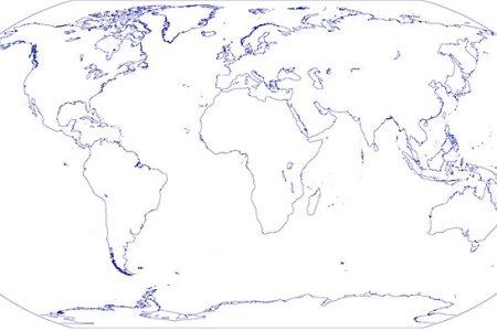 map outline world » Free Interior Design | Mir Detok