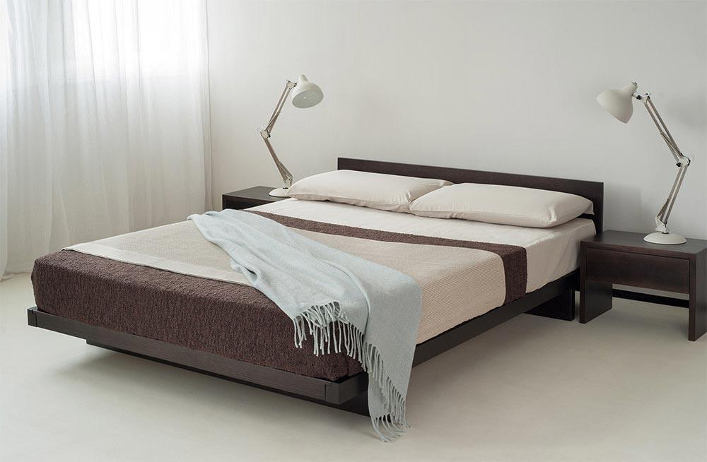 Oak Platform Bed With Storage