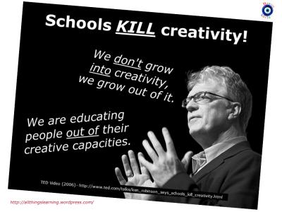 How Schooling Crushes Creativity