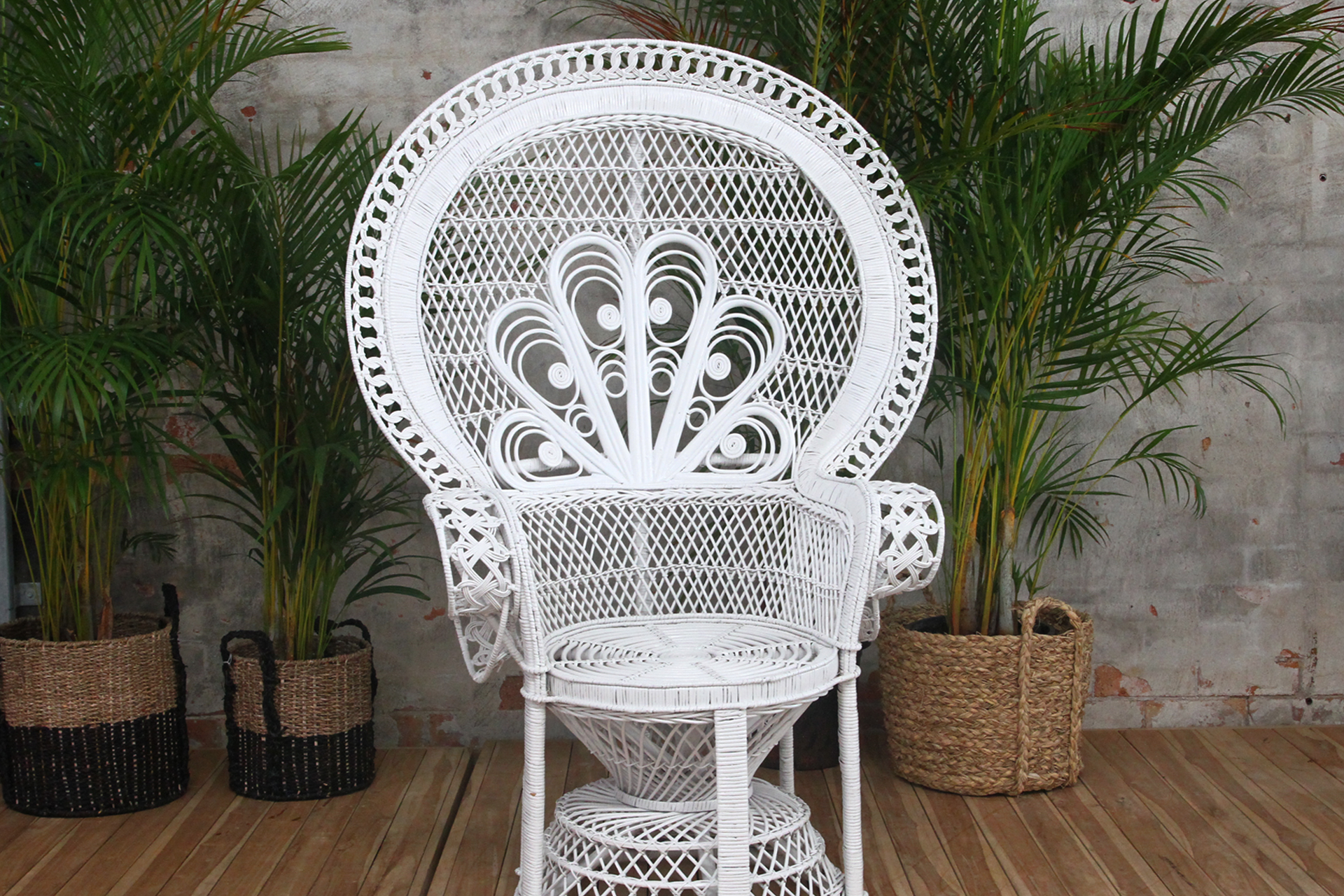 Peacock Chair Naturally Cane Rattan And Wicker Furniture