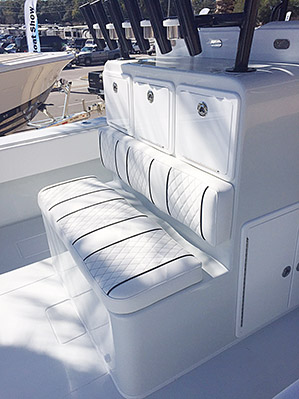 Custom Boat Chair Livewell Leaning Posts Nautical