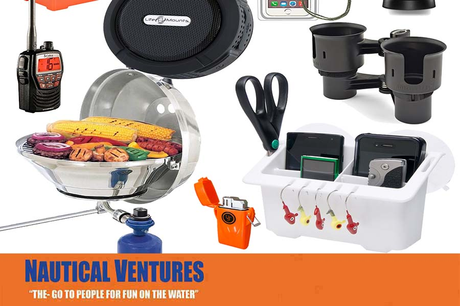 Top 5 Must Have Boating Accessories   Blog   Nautical Ventures     Have you just purchased your boat and have questions on what accessories  are essential to fun on the water  Our Nautical Ventures boating team has  put