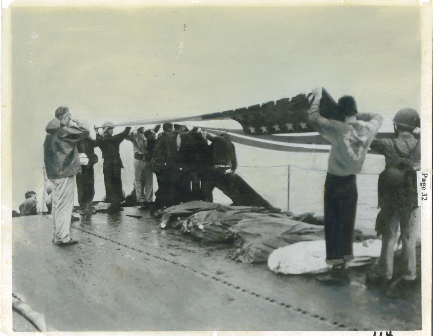 Crew Uss Cowpens Cvl 25