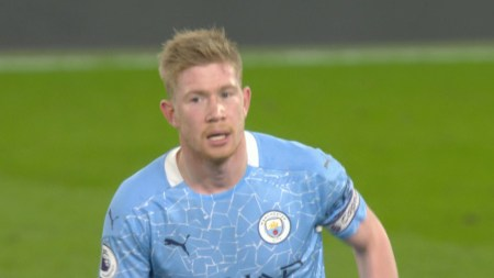 Kevin De Bruyne Scores Third Manchester City Goal V. Chelsea | NBC Sports