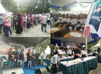 Grand Launching Bolu Susu Lembang Cita Rasa Bandung ...