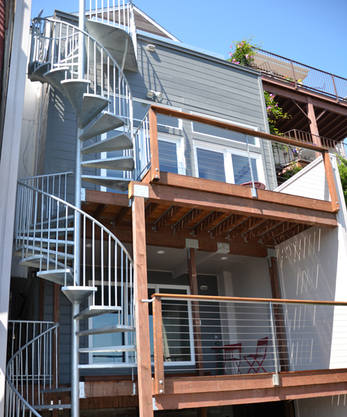 San Francisco Home Exterior Restoration And Reconstruction