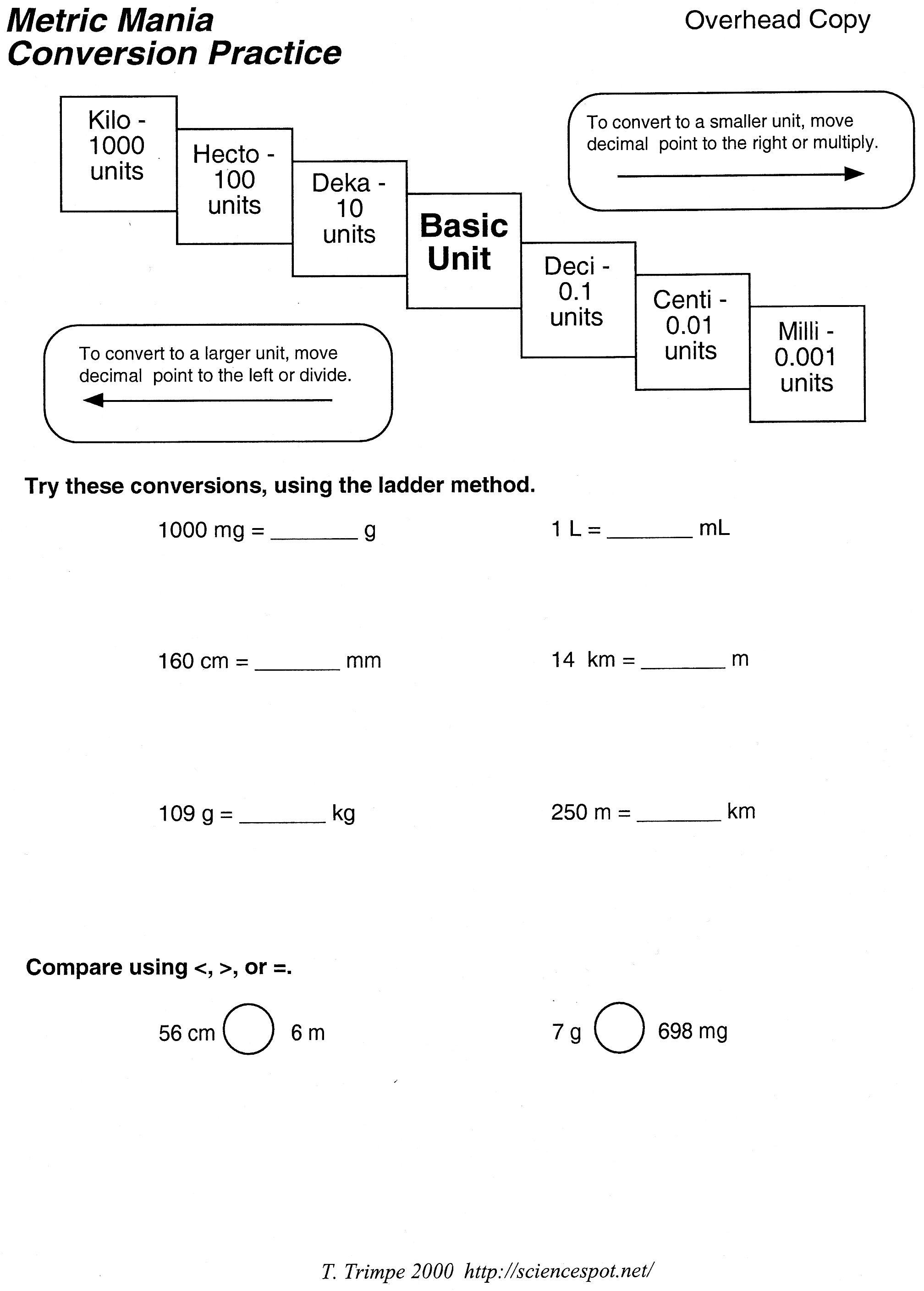 worksheet Unit Conversion Practice Worksheet unit conversion quiz practice writing checks worksheet simple long division worksheethtml