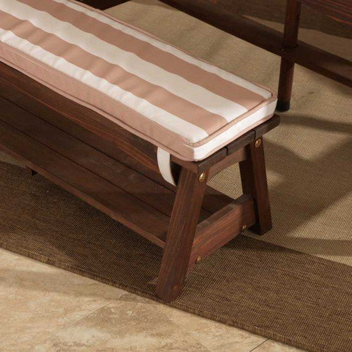 Outdoor Table Amp Bench Set With Cushions Amp Umbrella For