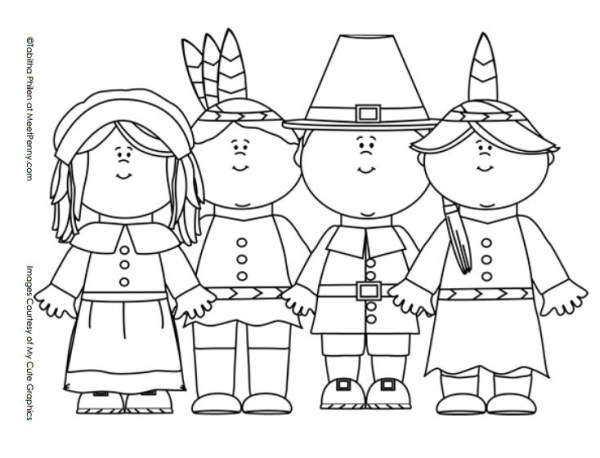 free thanksgiving coloring pages printable # 18