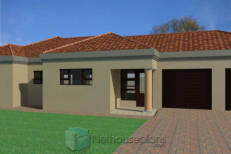 3 Bedroom House Floor Plans_House Plans With Garage ...