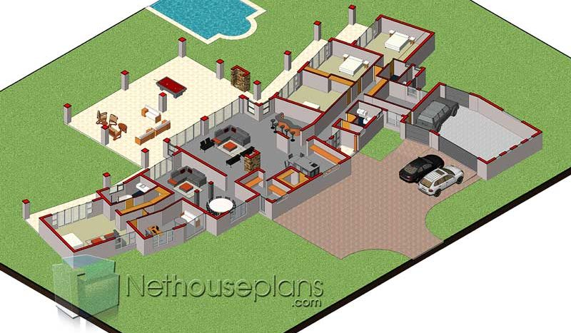 dream house design house plans south africa unique 4 bedroom modern house plans house plans with garages 4 bedroom house plans pdf doqnloads free house plans in south africa house plans for sale in Limpopo 4 bedroom 3 bathroom house design simple four bedroom house plans Nethouseplans