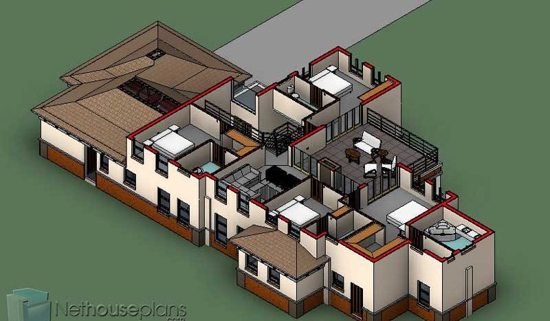 5 bedroom house plan with photos, double storey Bali style house design, house plans pdf download, Nethouseplans