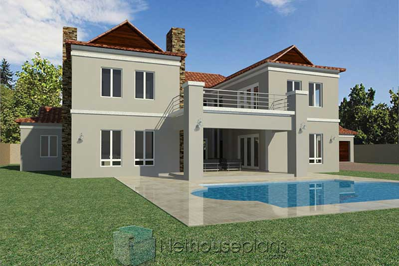 Double Storey House Plans South Africa PDF ...