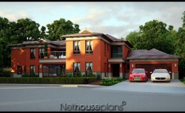 Mansion house plans, House plans south africa 5 Bedroom two story home, Net house plans south africa, Bali style house plan, double story floor plans
