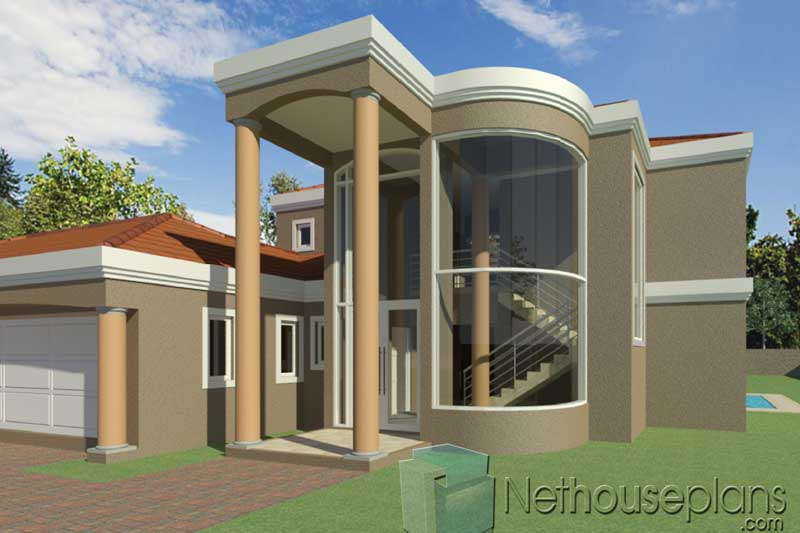 Simple-5-Bedroom-House-Plans-South-Africa_T483D_Staircase ...
