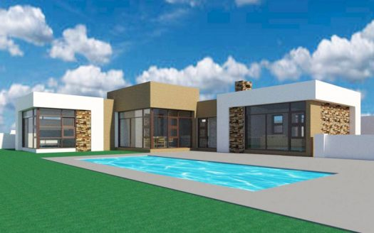 Single story House plan, one storey house design, modern house plan, single storey house design in South Africa, 3 bedroom contemporary house plan, Nethouseplans
