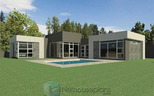 modern house designs modern 3 bedroom house plans South Africa beautiful single storey house plan designs single story modern house plans single story modern house designs Nethouseplans