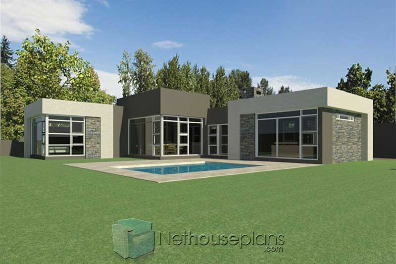 Modern 3 Bedroom House Plans South Africa  Single Storey ...