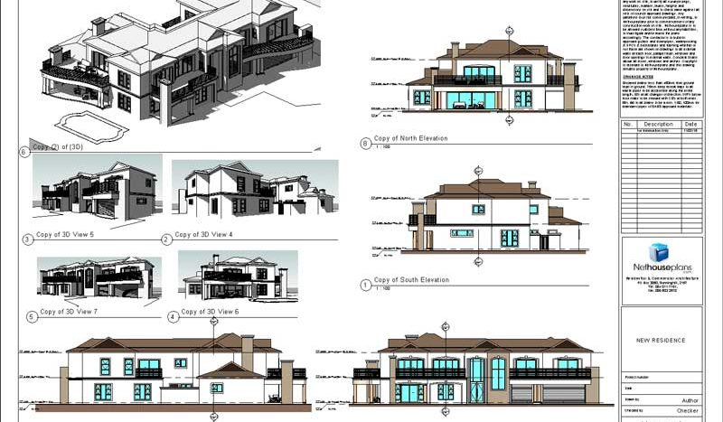 modern house plans with photos, House Plans, House Designs, Home Designs, Floor Plan Designs, Tuscan house plans designs, blueprints, architect's drawings, building plans, Nethouseplans