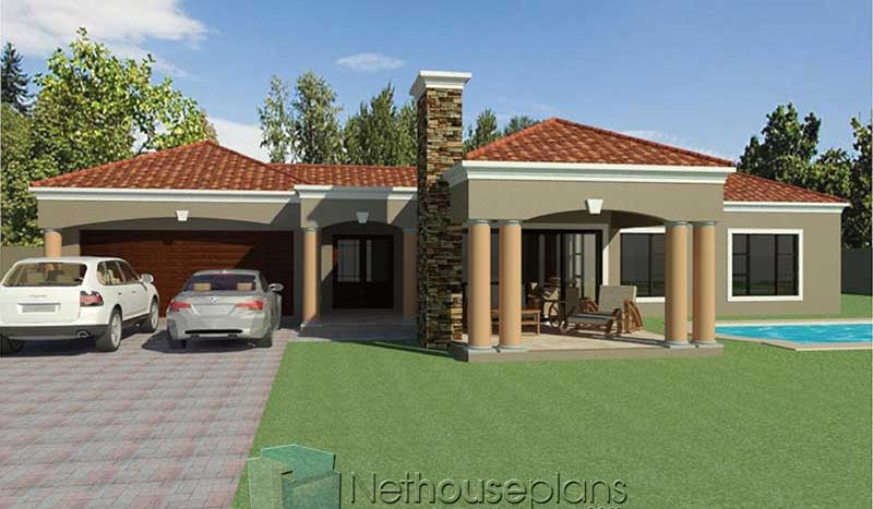 small 3 bedroom house designs Nethouseplans