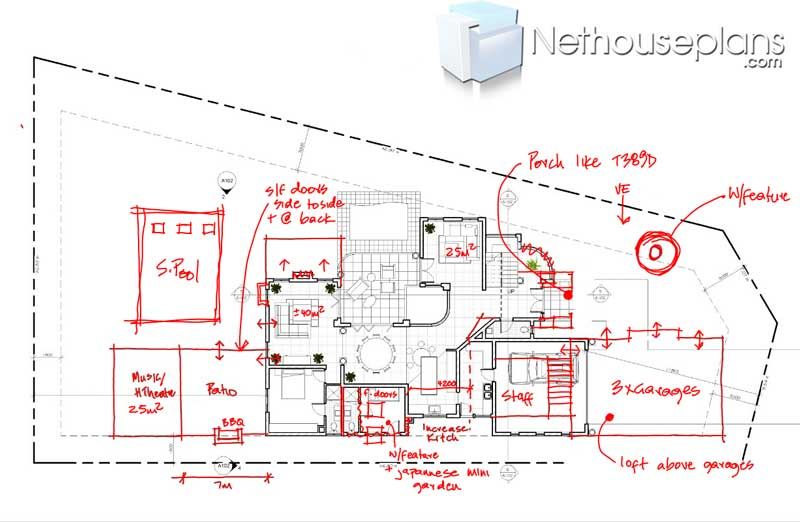 3 bedroom house plans, house plans designs, double story house designs, Nethouseplans