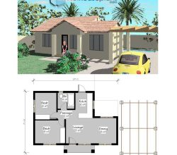 Simple house plans; Open Floor House plans, Small house plans | Free house plans pdf downloads tiny house plans | Simple-house-plans_Nethouseplans_