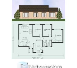 Simple House Plans Clutter Free 3 Bedroom House Plans Nethouseplansnethouseplans But small house is okay for the garden. 3 bedroom house plans
