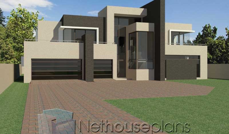 House Designs 4 Bedroom Modern House Design Nethouseplansnethouseplans