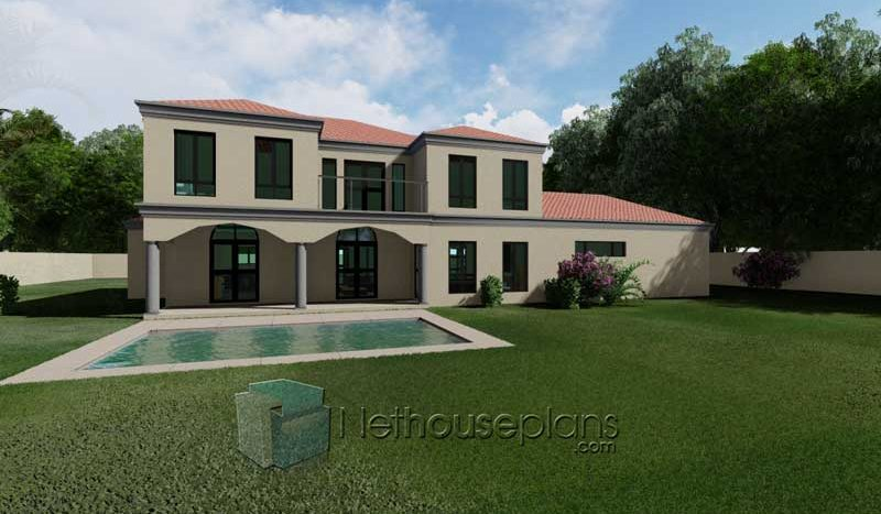 4 bedroom house plans tuscan style architecture designs Architects in South Africa Nethouseplans