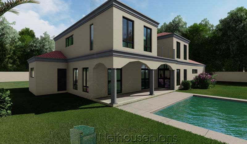 Modern House Plans for sale in Cape Town Architects in Africa Modern Tuscan house plans in South Africa Nethouseplans