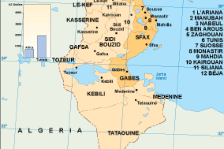 tunisia map » Full HD MAPS Locations - Another World | ..:: Pices ...