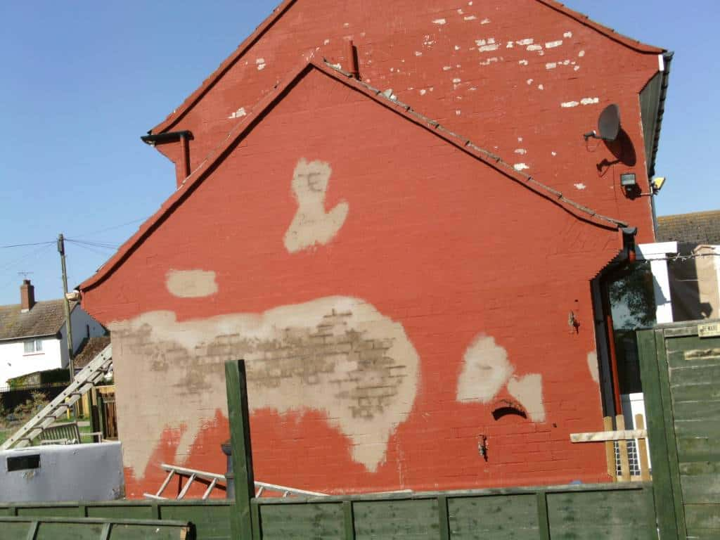 Why Your Gable End Wall Gets The Weather Never Paint Again