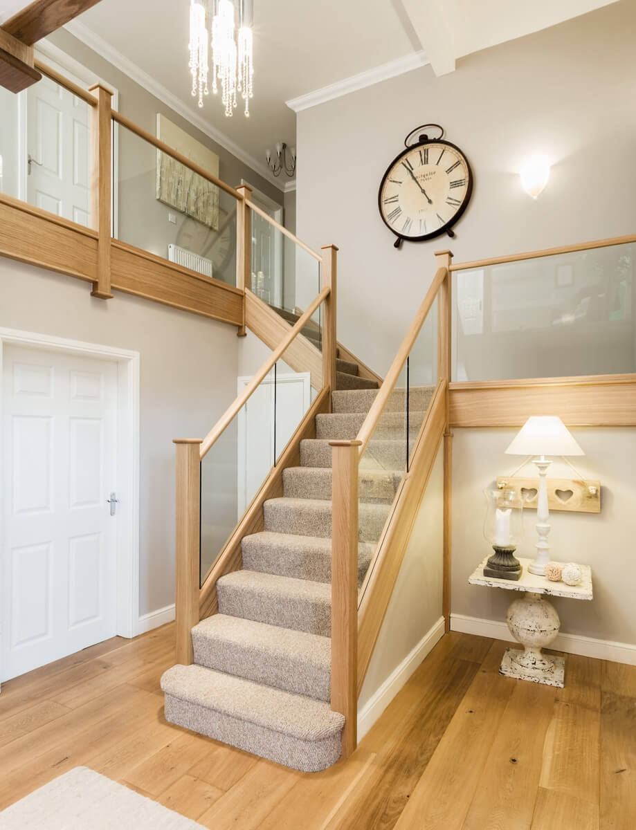 Glass Balustrade Staircase Uk Glass Bannisters Neville Johnson   Glass Balustrade Stairs Near Me   Railing Systems   Frameless Glass   Deck Railing   Handrails   Metal