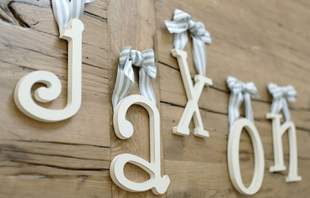 Wooden Letters   Wood Letters   Wooden Letters for Nursery   Hanging     Add to Wish List