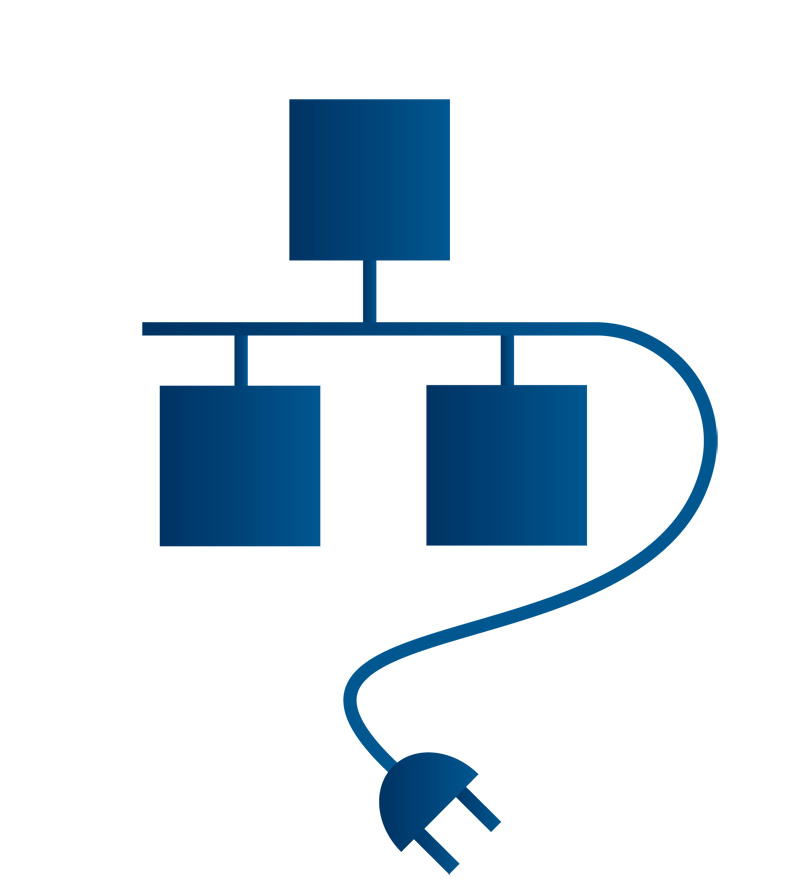 Network Cable Jack Symbol