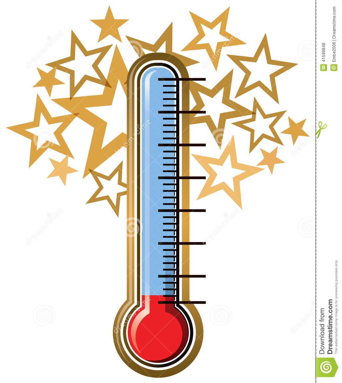 Balnk Sales Thermometer