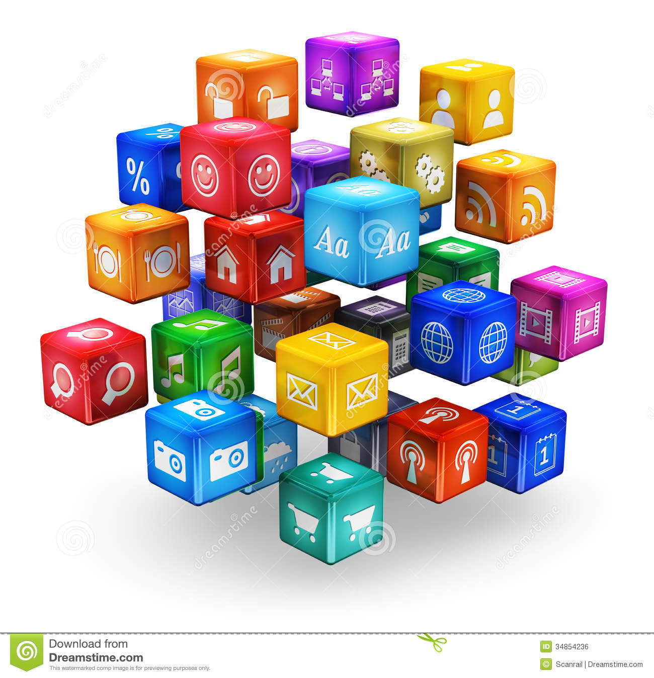 10 Computer Application Icons Images - Information ...