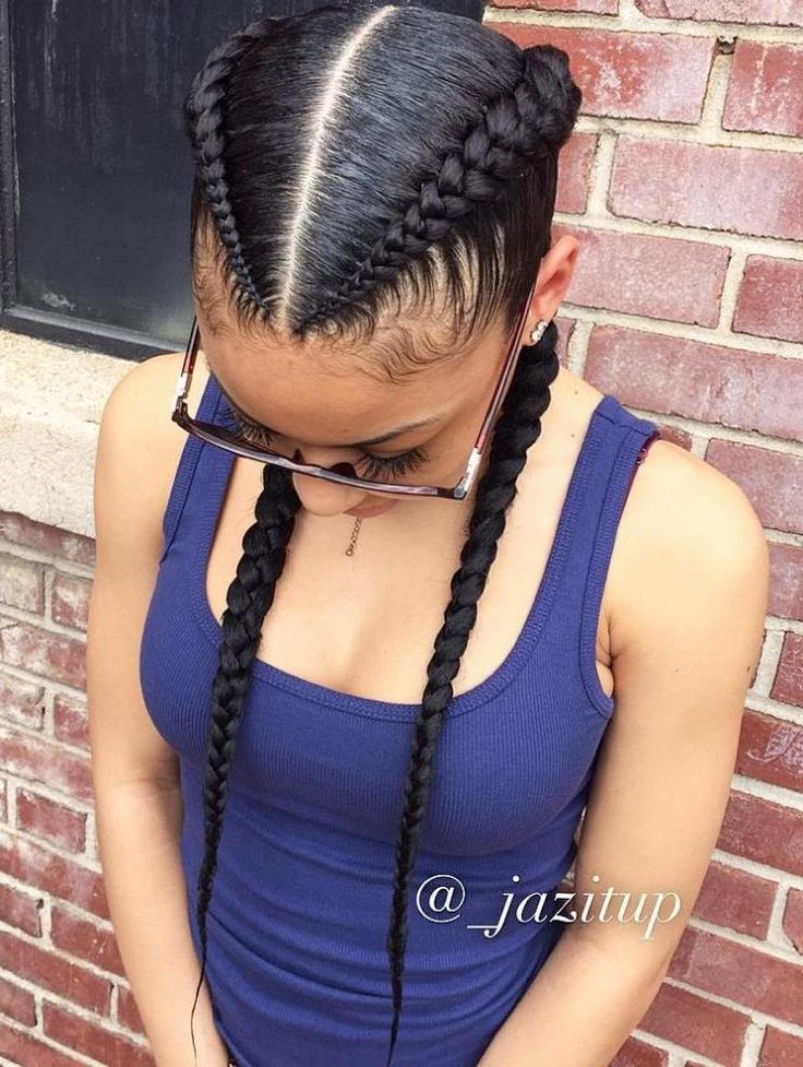 Black Natural Mix Hairstyles
