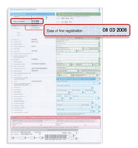 Find Vehicle Registration Number