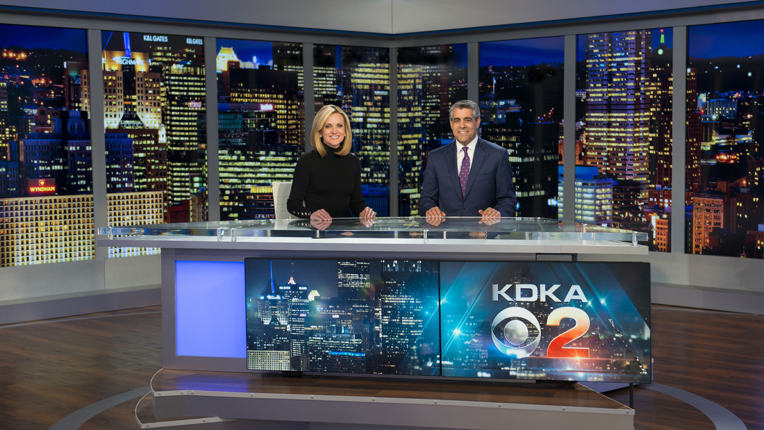 Kdka Tv Broadcast Set Design Gallery